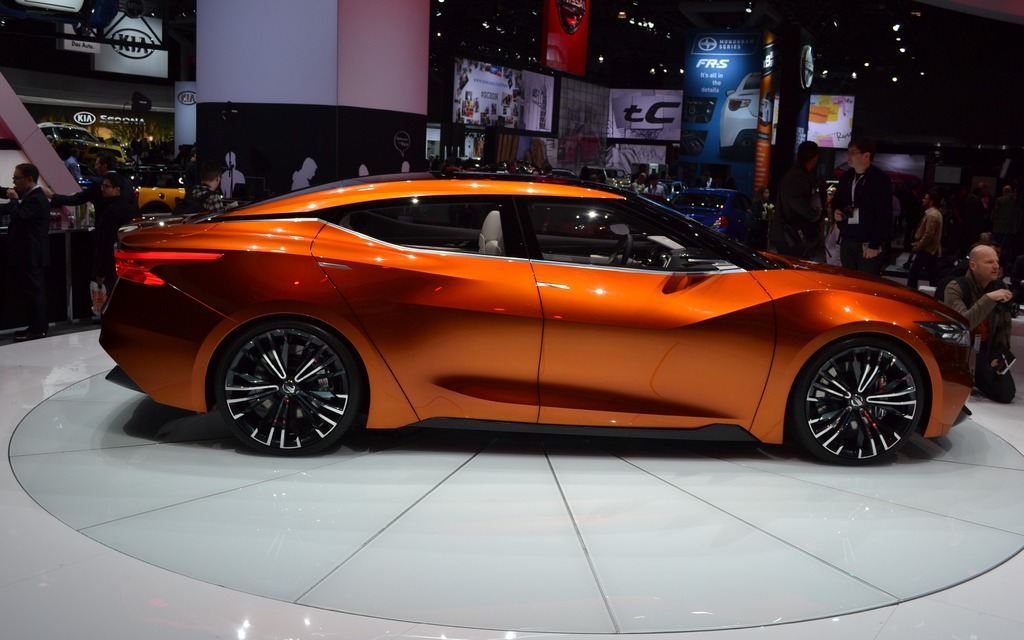 The 2015 Nissan Maxima Will Look Like The Sport Sedan