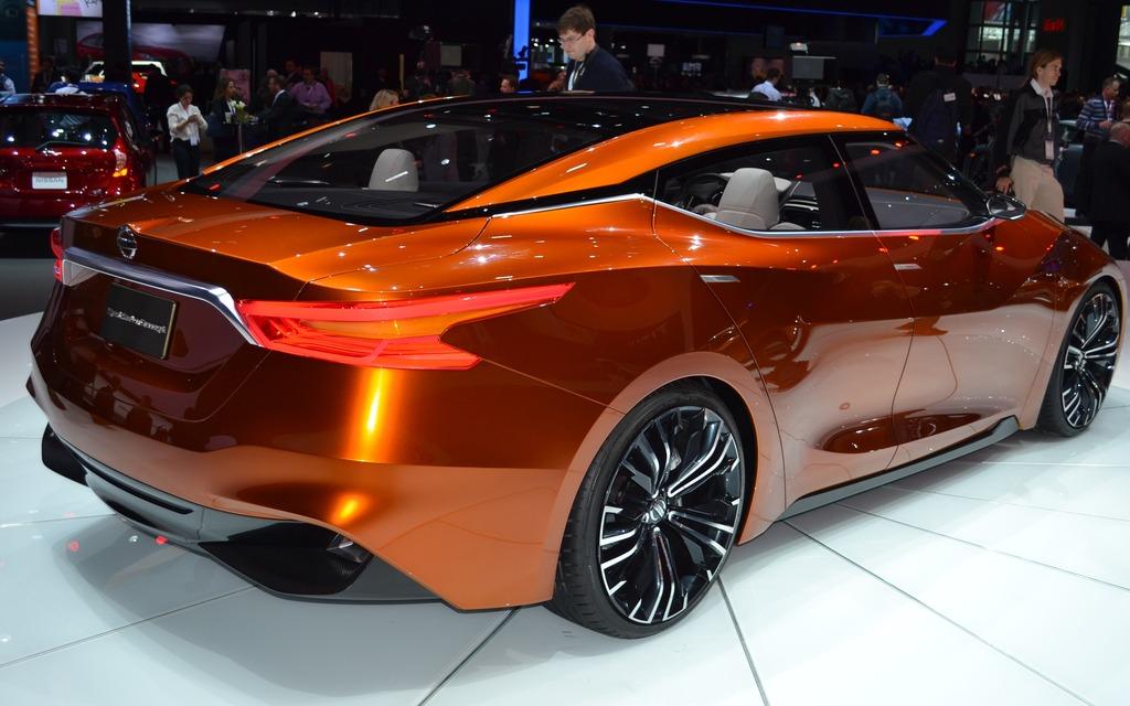 Nissan Maxima 2015 >> The 2015 Nissan Maxima Will Look Like the Sport Sedan Concept - 4/5