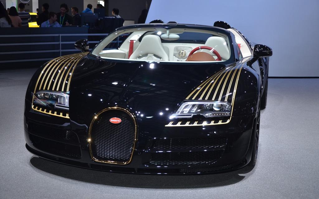Video : Les Legendes de Bugatti: Veyron Grand Sport