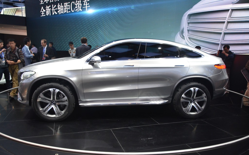 2018 Crossover Vehicles >> A Coupe Version of the Mercedes-Benz ML in Beijing - 2/7