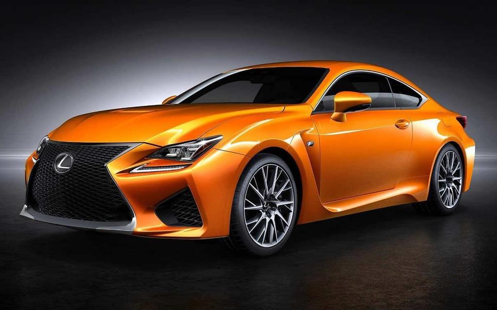 La nouvelle couleur de la Lexus RC F