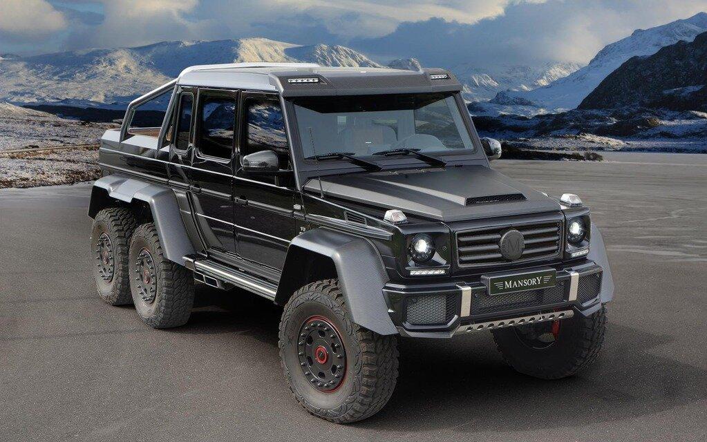 mansory d voile sa version du mercedes benz g63 amg 6x6 guide auto. Black Bedroom Furniture Sets. Home Design Ideas