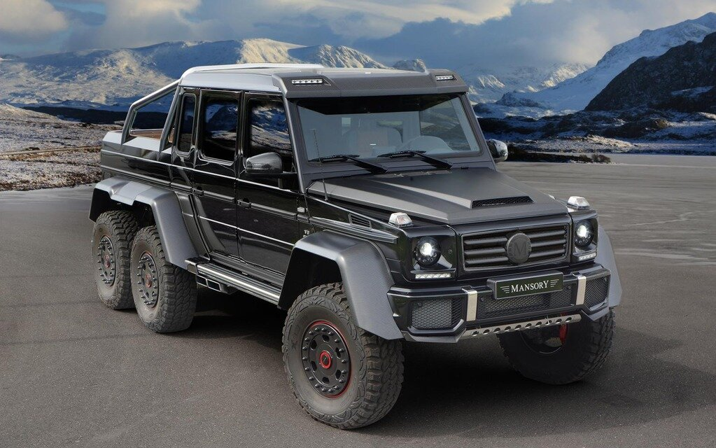 Mansory unveils itstake on the mercedes benz g63 amg 6x6 - Classe g 6x6 ...