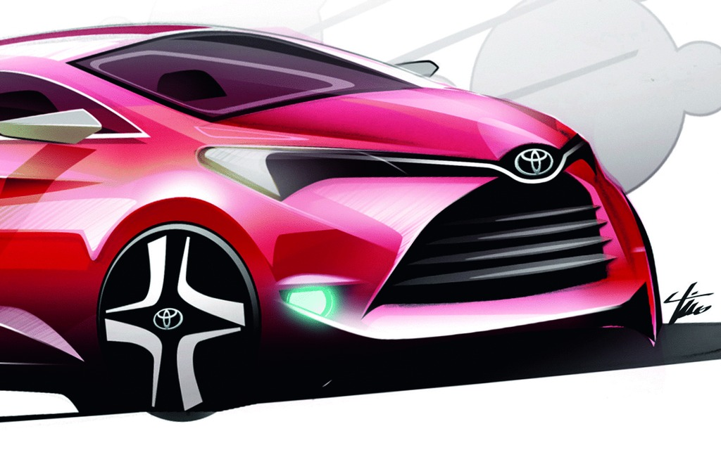 Toyota Yaris A New Nationality For 2015 19 19