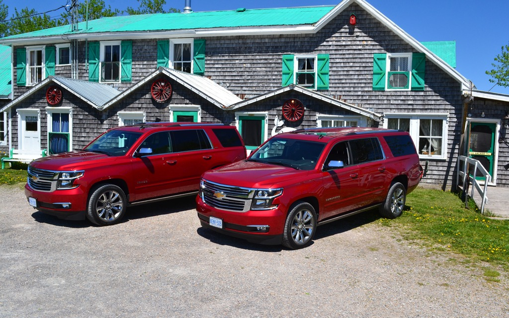2015 Chevrolet Suburban and Tahoe Go Big or Go Home  The Car Guide