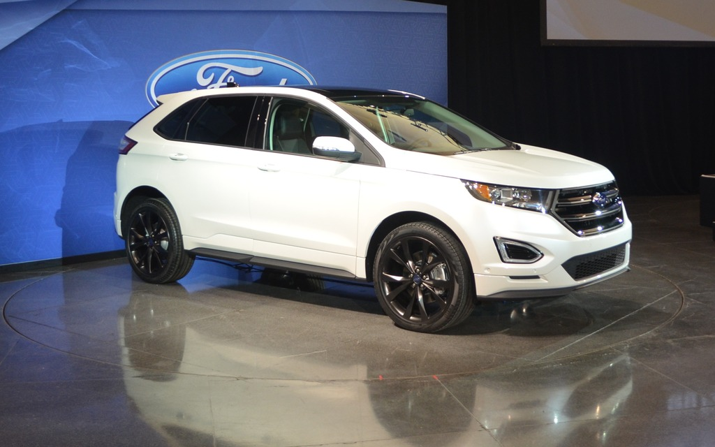 Ford Edge From Canada To China