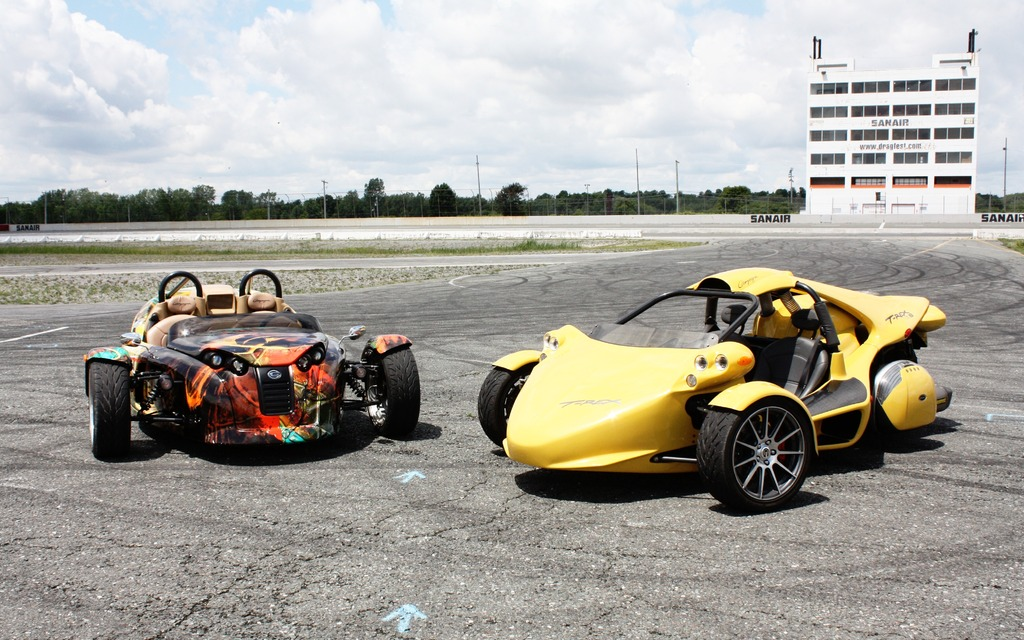 T Rex 3 Wheeler >> Campagna T-Rex 16S and V13R: Two Speedsters, Two Personalities - The Car Guide