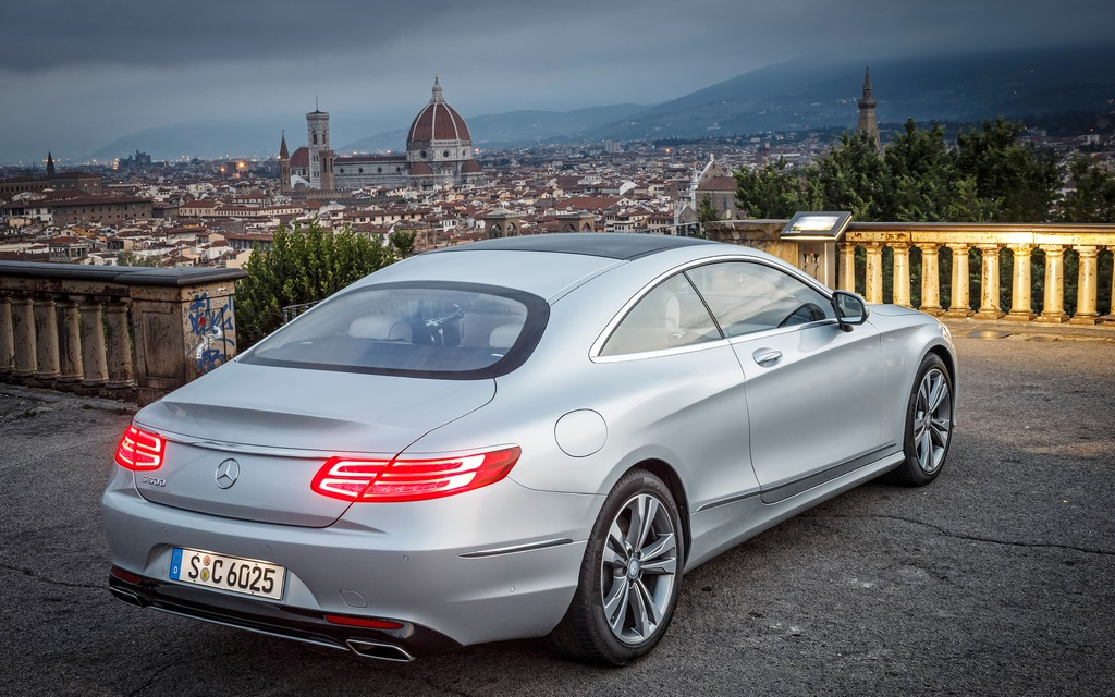 2015 Mercedes Benz S Class Coupe: As Pretty As A Starlet