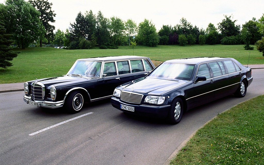 Mercedes-Benz S-Class Pullman: 6.4 Meters of Armored Luxury - 7/10