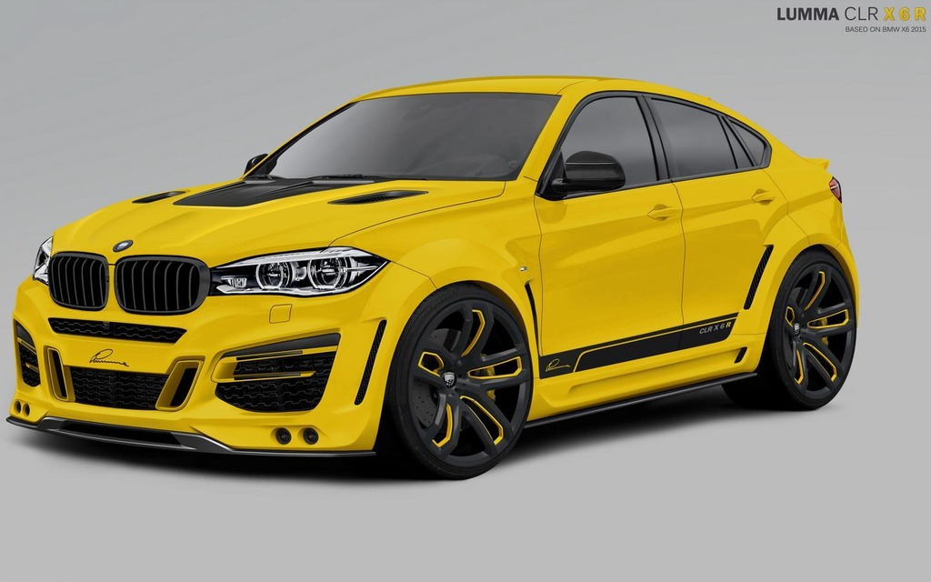 Lumma Design Modify The New Bmw X6 The Car Guide