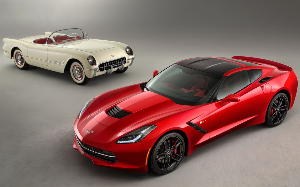 The Chevrolet Corvettes Birthday 130