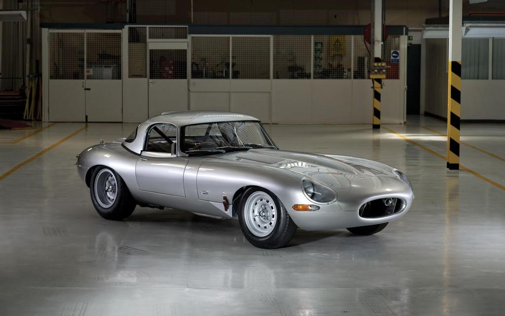 Jaguar E-Type Lightweight Prototype Zero