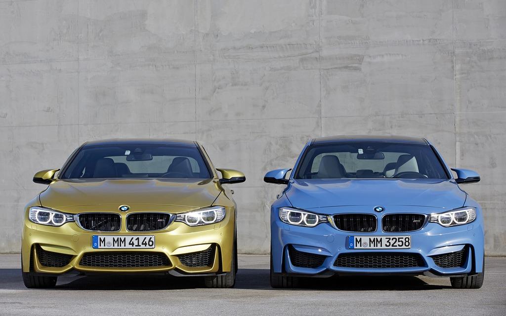 BMW M4 et BMW M3