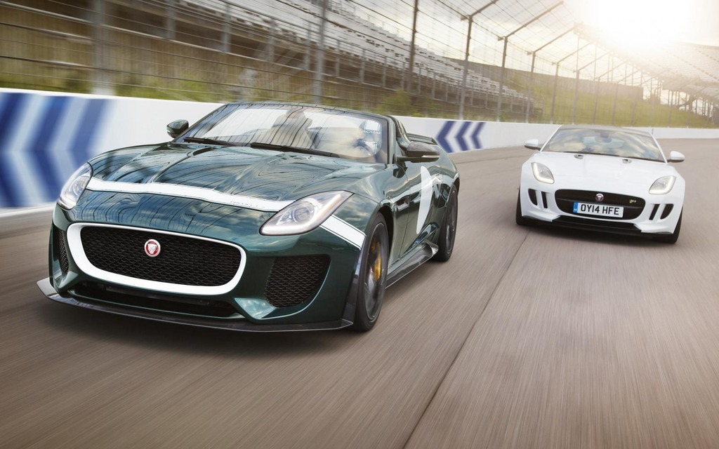How Much For A Jaguar F Type Project 7?