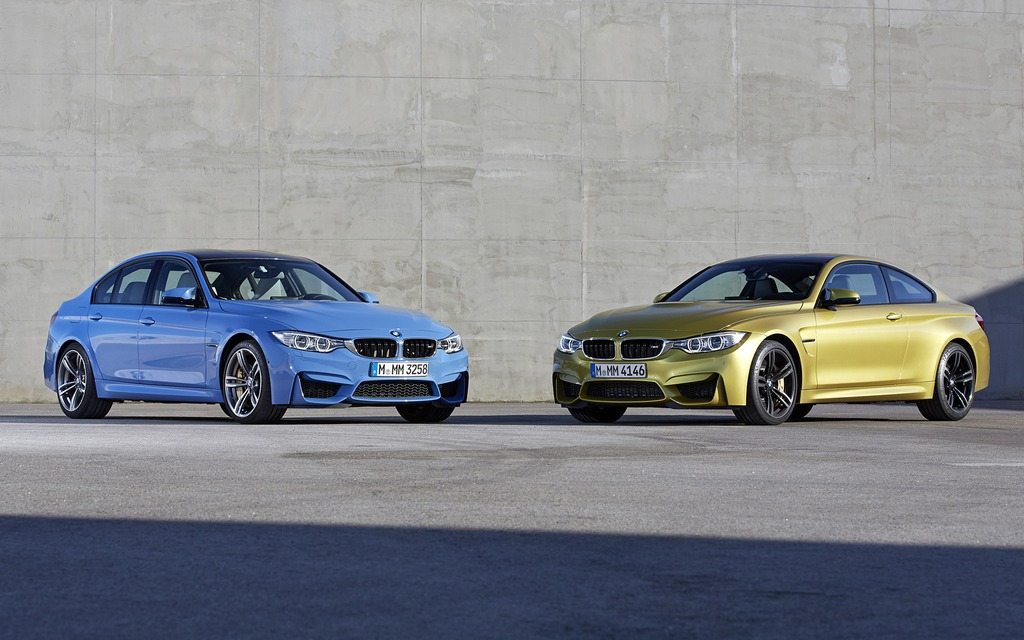 BMW M3 and BMW M4