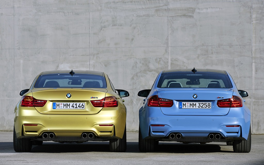 BMW M4 and BMW M3