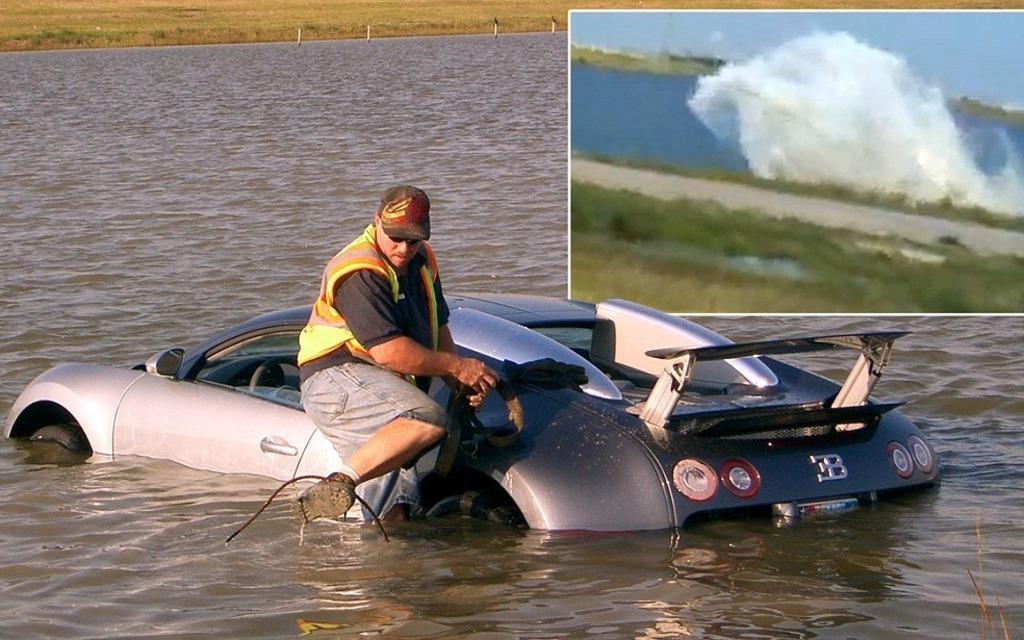 Insurance Scam In A Bugatti Veyron