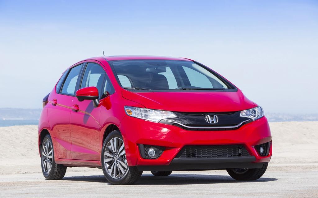 Honda Fit 2015 - Un look plus dynamique