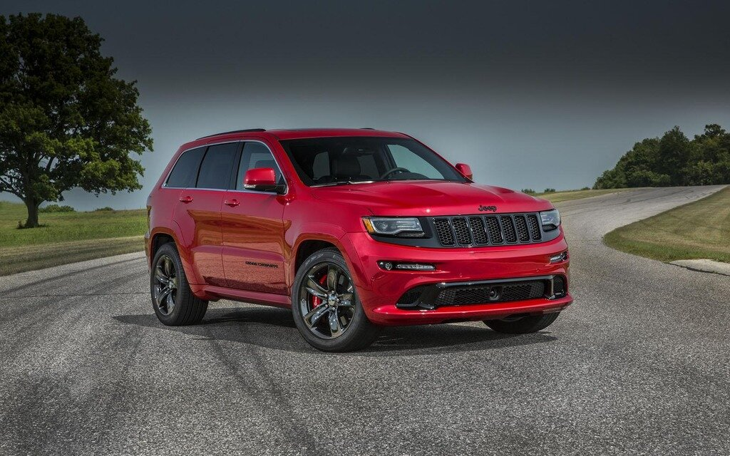 2015 Jeep Grand Cherokee >> Modestes changements pour le Grand Cherokee SRT 2015 - 2/8