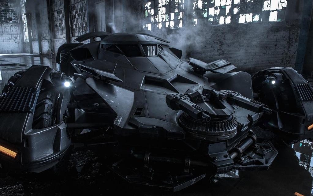 La nouvelle Batmobile