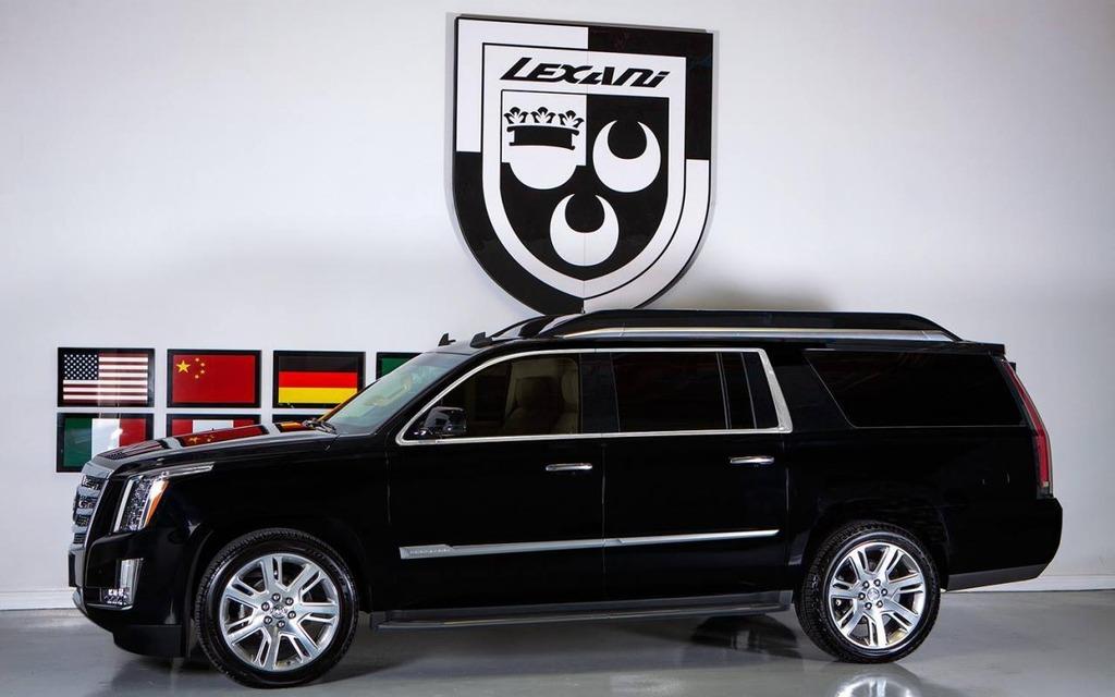 Lexani Unveils The Concept One A Vip Cadillac Escalade The Car Guide