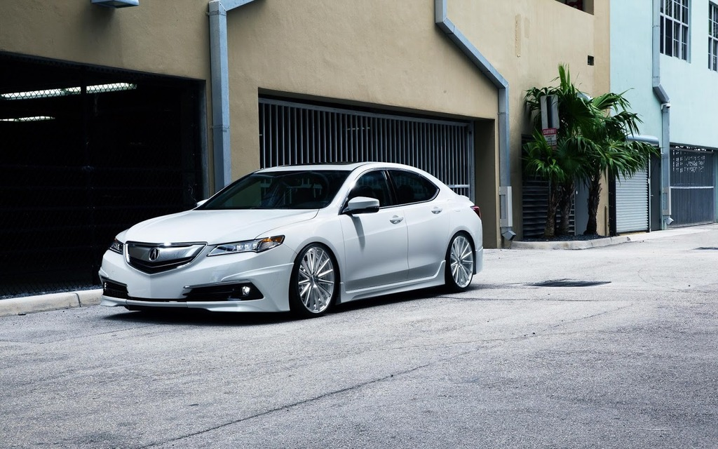 The First Modified Acura TLX - The Car Guide
