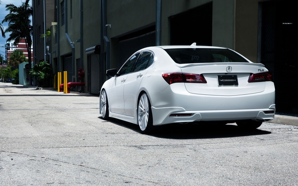 The First Modified Acura Tlx 4 8