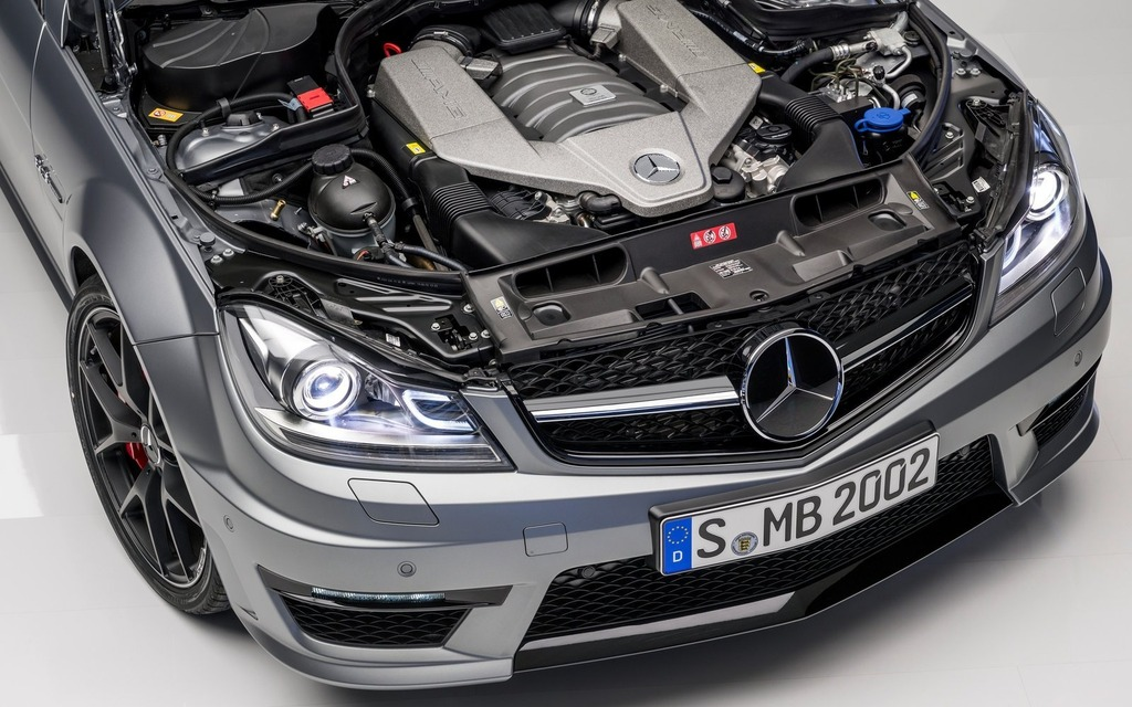 Mercedes-Benz C63 AMG 2014