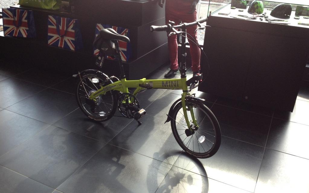 Un vélo MINI, pourquoi pas!
