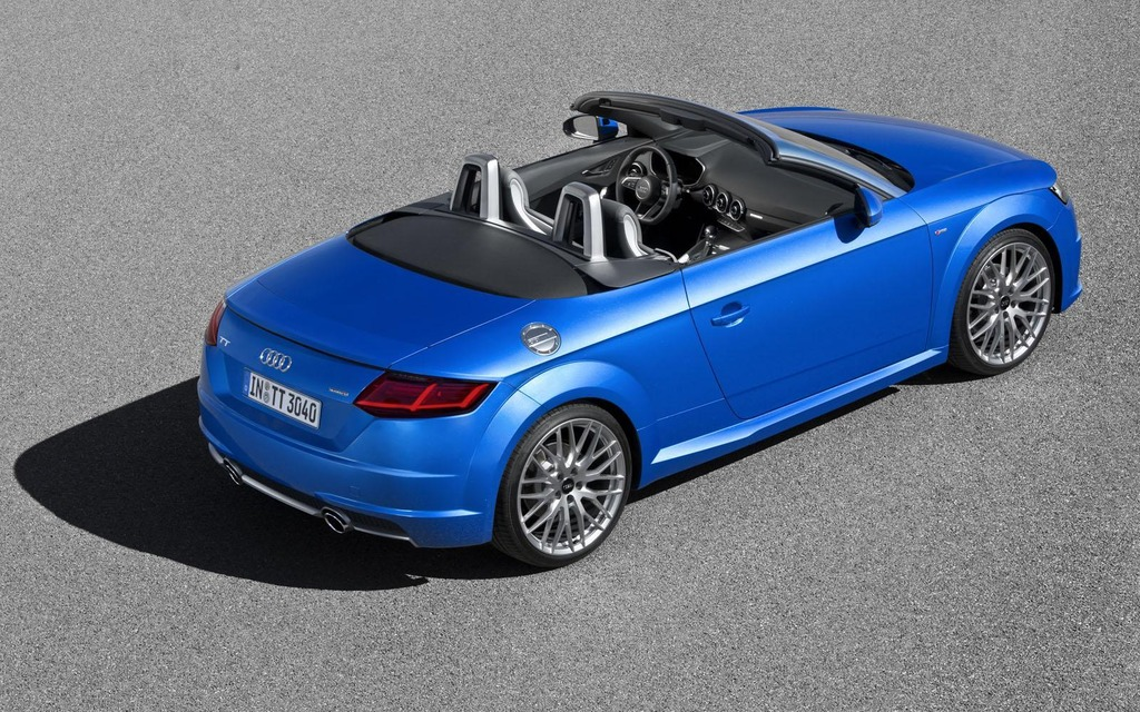 First Images Of The 2015 Audi Tt Roadster 8 16