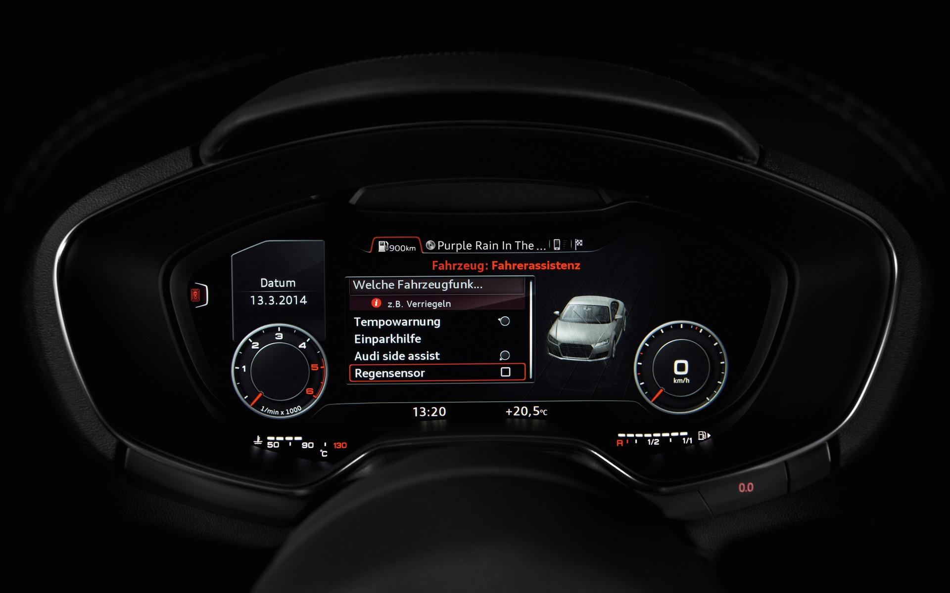 Le Cockpit Virtuel D Audi Nouvelle Approche 7 11