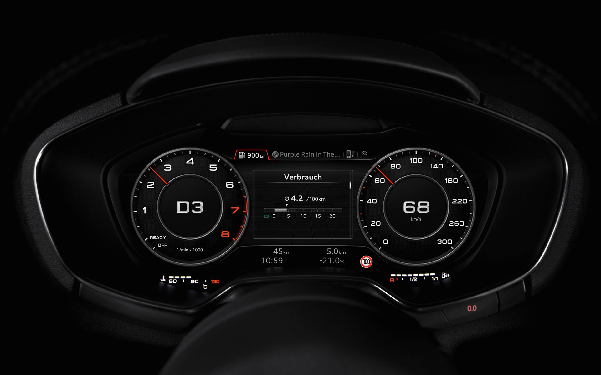 Audi Virtual Cockpit A New Approach For Interior Design