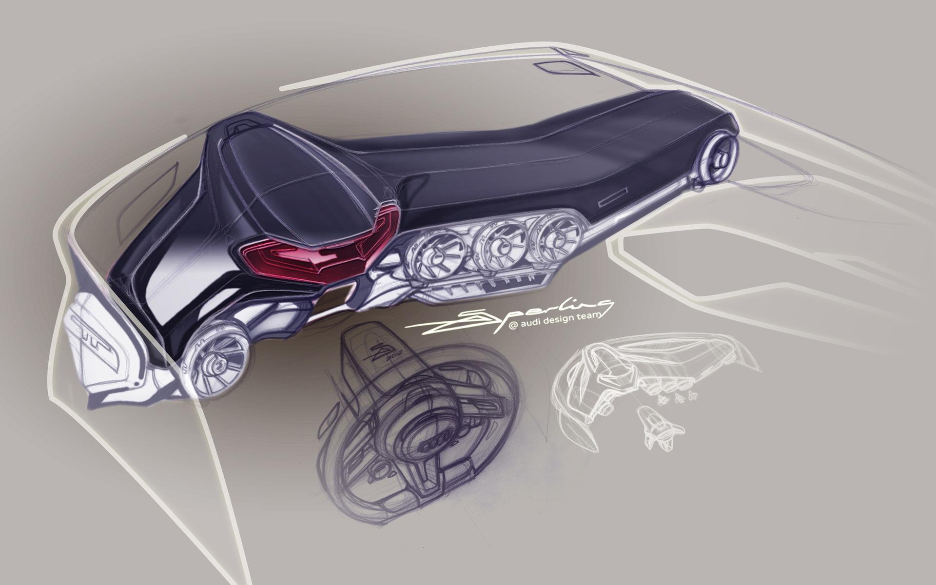 Audi Virtual Cockpit A New Approach For Interior Design