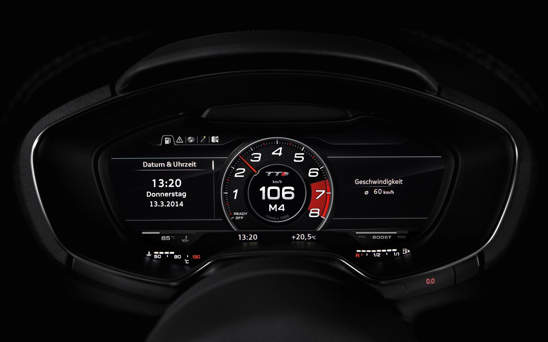 Audi Virtual Cockpit - A New Approach for Interior Design - 14/14