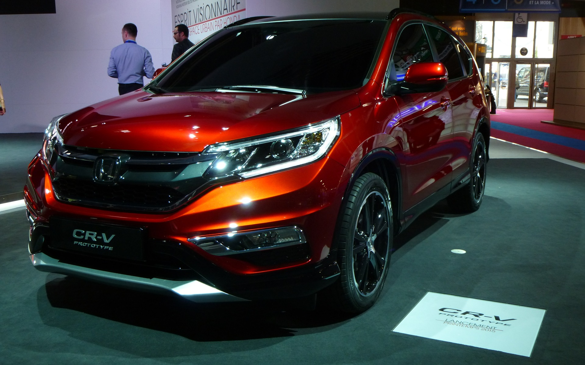 Honda cr v prototype 2015 faut le faire guide auto for Garage jean charles nacci