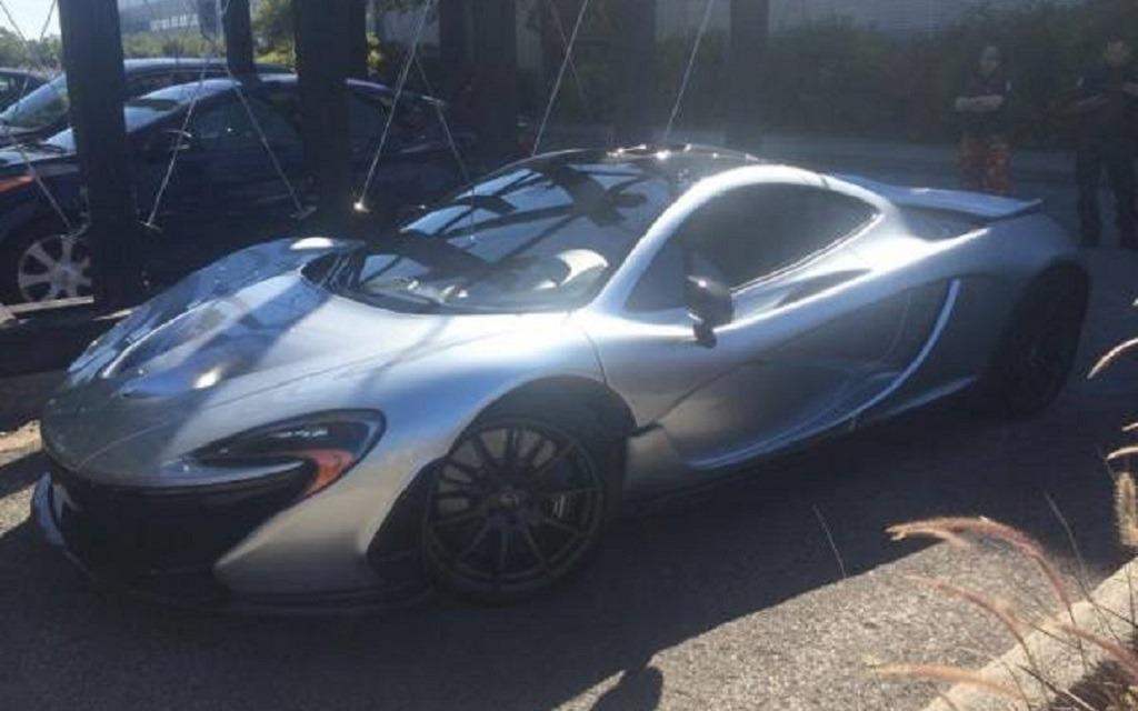 La nouvelle McLaren P1 de Guy Laliberté