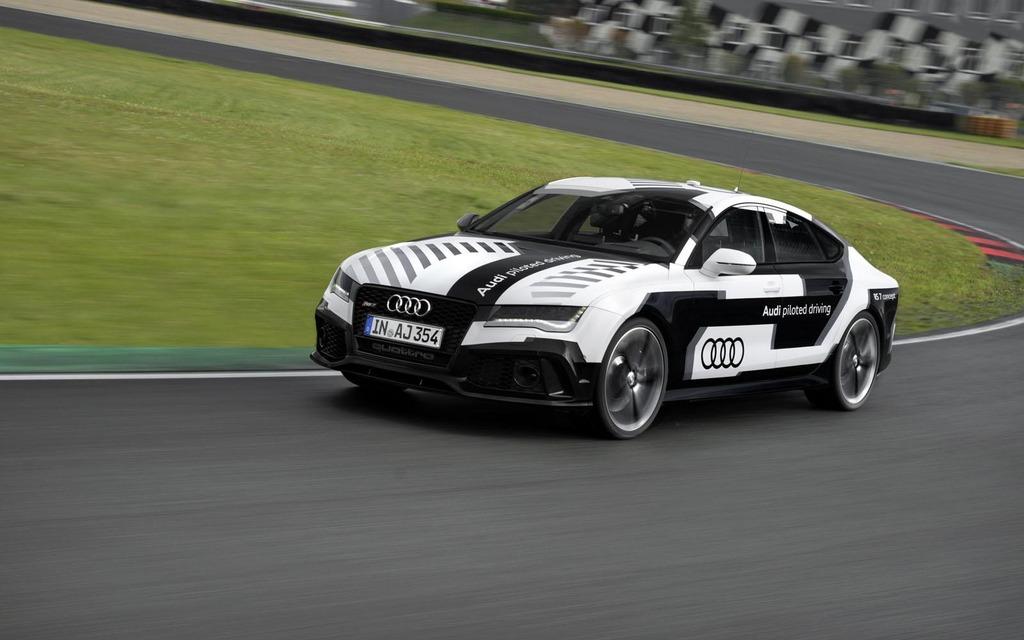 Autonomous Audi RS 7