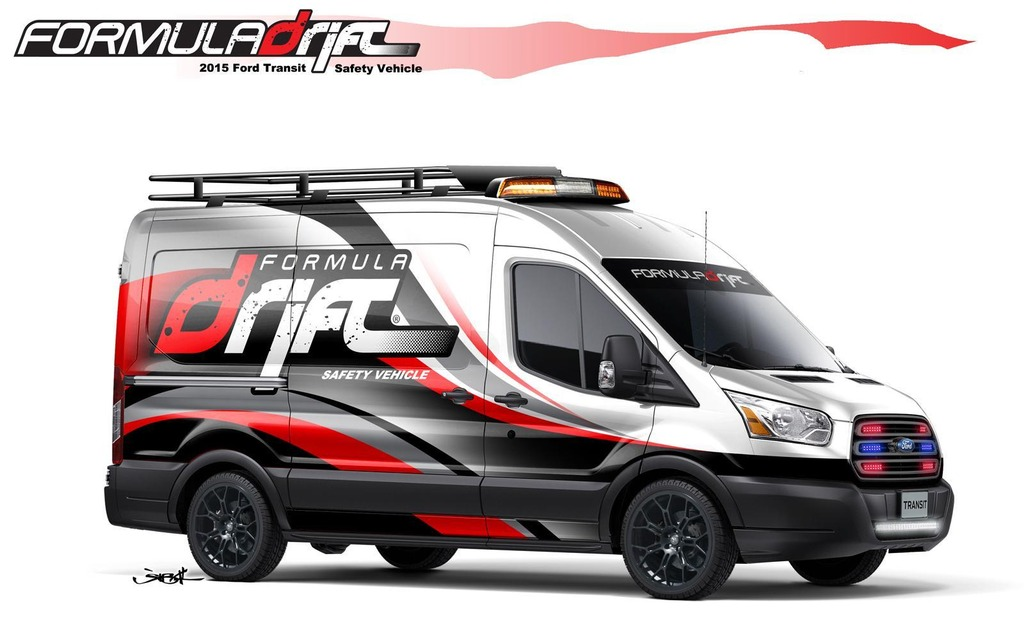 Formula Drift Safety Vehicle Transit