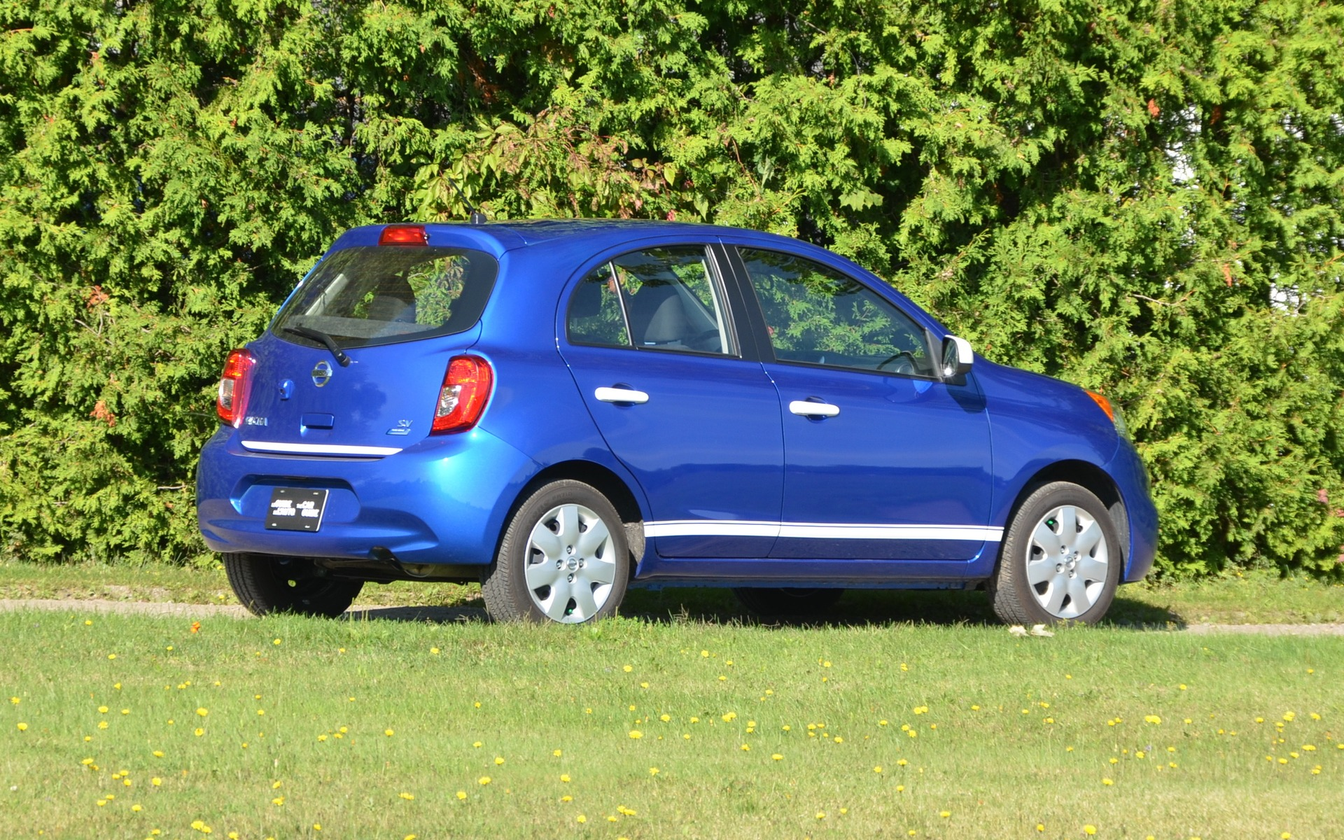 The Micra is actually quite decent looking, isn't it?