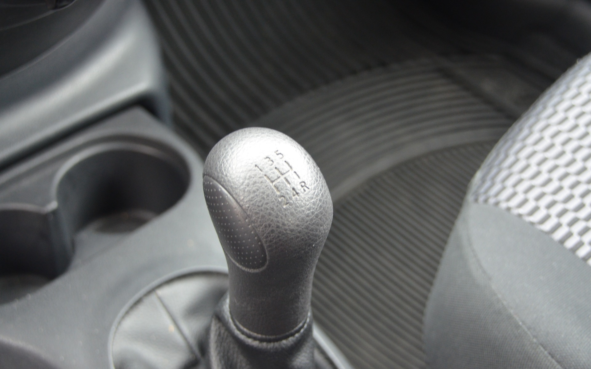 Five-speed manual.