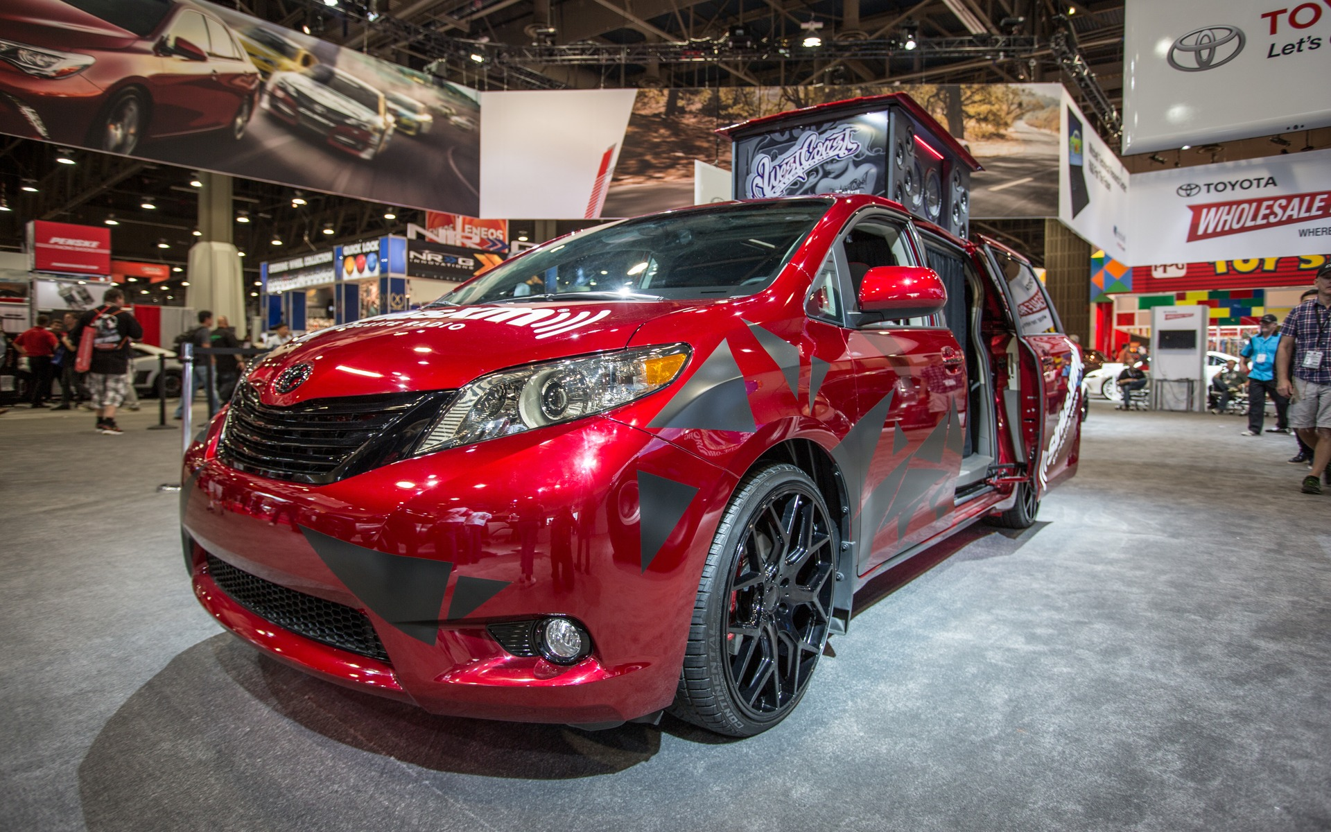 The Toyota Sienna:Remix Will Become The Ultimate U0027u0027Swagger Wagonu0027u0027