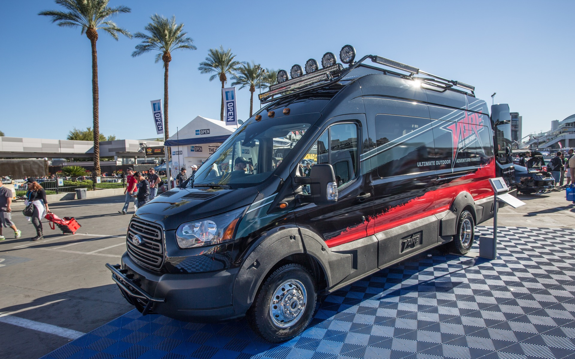 5 Ford Transits To Show Up At SEMA