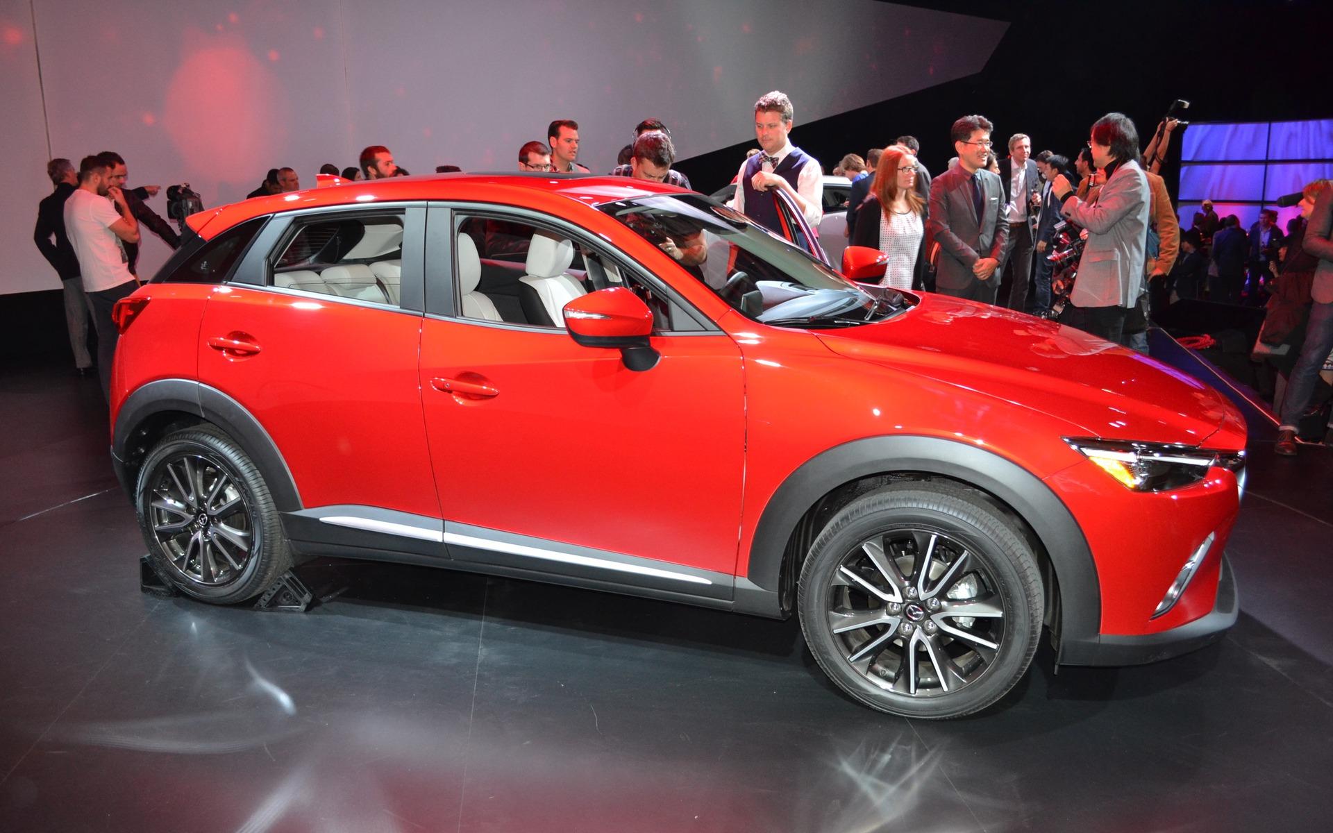 Mazda cx3 size