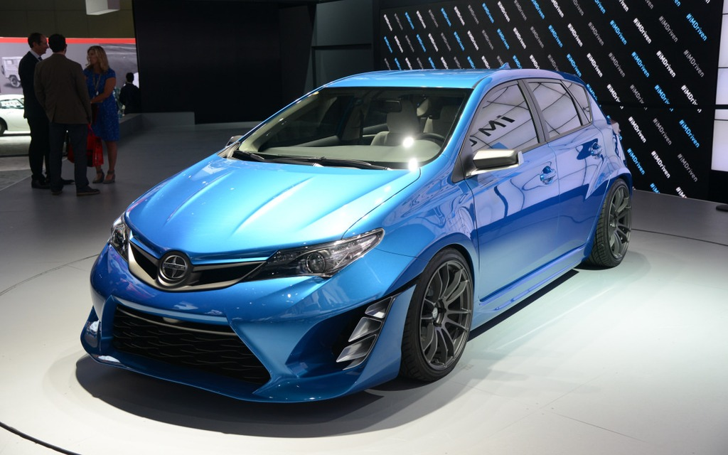 Here Is The Scion Im Concept The Car Guide