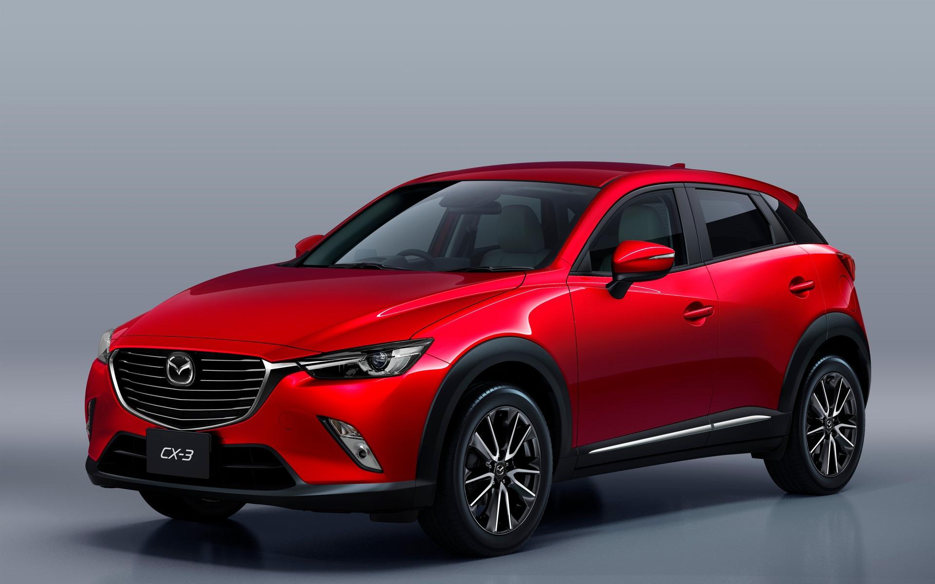 La nouvelle Mazda CX-3 a fait des débuts remarqués.
