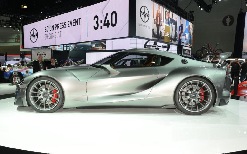 Toyota FT-1 2.0. Espérons qu'il soit produit un jour.