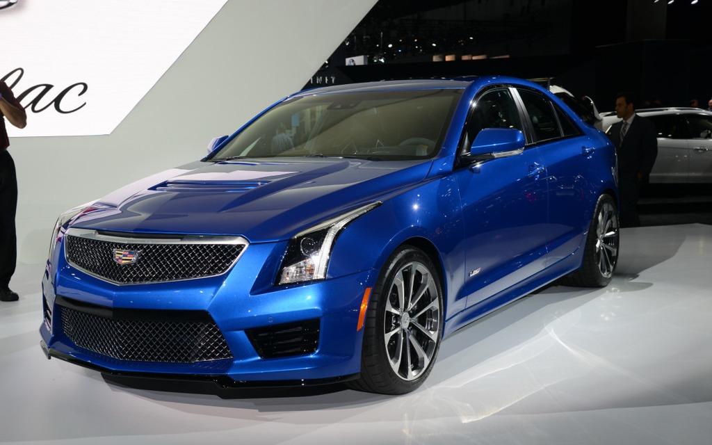 Cadillac ATS-V offre un V6 de 455 chevaux.