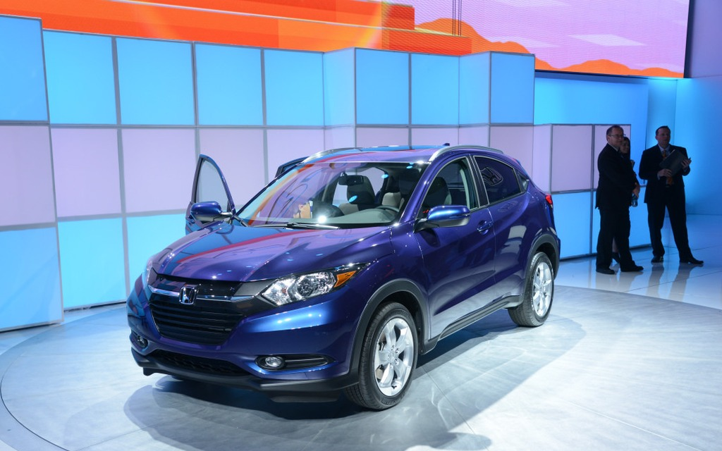 La Honda HR-V a soulevé plus d'interrogations que d'enthousiasme.