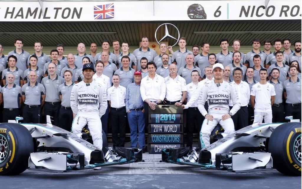 Mercedes-AMG Wins 2014 Formula 1 Season - The Car Guide