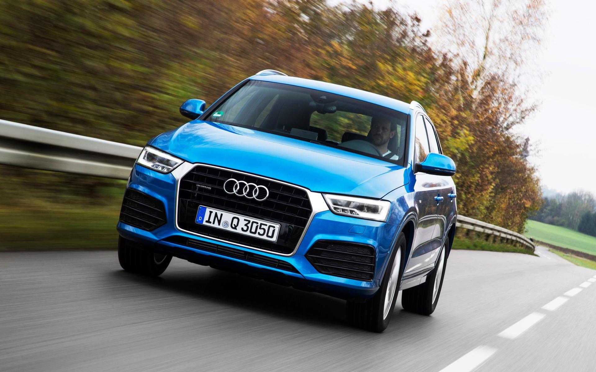 Audi Q3 2016 - Un aplomb remarquable sur routes secondaires